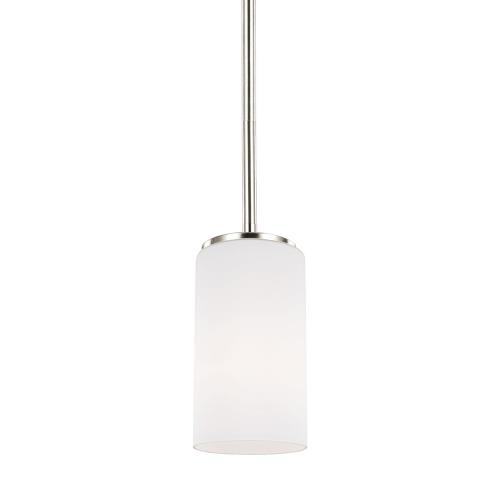 Sea Gull Lighting 6124601EN3 Alturas - One Light Mini-Pendant in Contemporary Style - 3.5 inches wide by 7.19 inches high