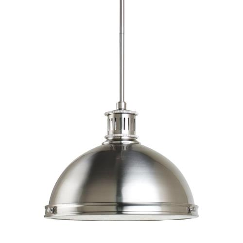 Sea Gull Lighting 65086-715 Pratt Street - Two Light Pendant in Contemporary Style - 12.75 inches wide by 8.5 inches high