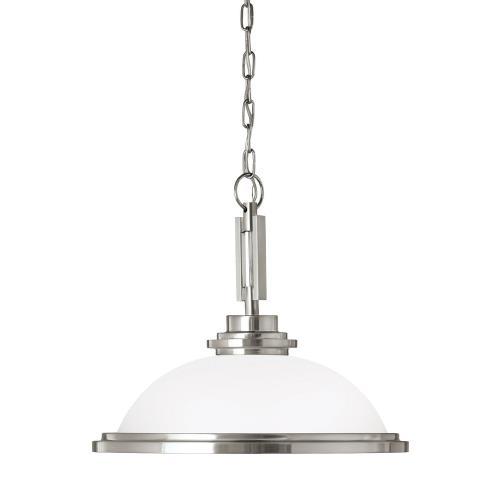 Sea Gull Lighting 65660EN3 Winnetka - 16.75 inch 9.3W 1 LED Pendant
