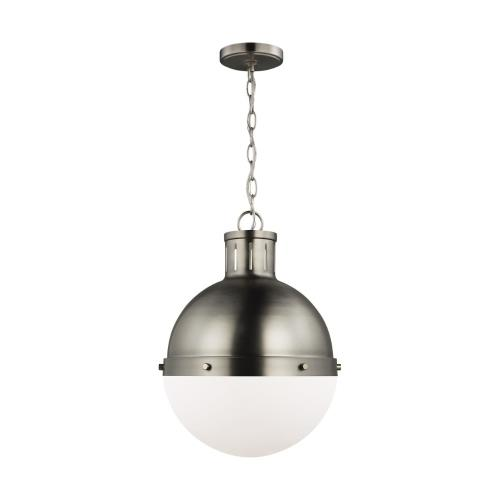 Sea Gull Lighting 6577101 Hanks - 1 Light Medium Pendant - 13.25 inches wide by 18 inches high