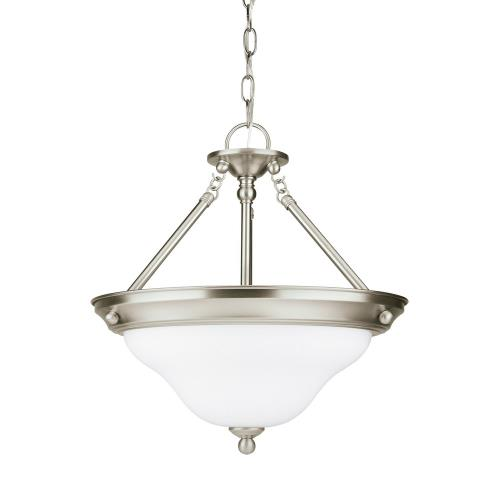Sea Gull Lighting 66062EN3 Sussex - Three Light Convertible Pendant