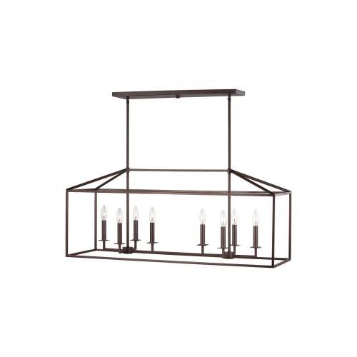 Sea Gull Lighting 6615008EN-710 Perryton - 16.75 Inch 28W 8 LED Pendant