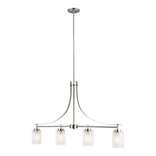 Sea Gull Lighting 6637304EN3 Elmwood Park - 40 inch 37.2W 4 LED Island