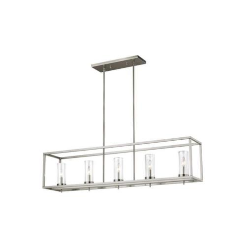 Sea Gull Lighting 6690305 Zire - 5 Light Island in Modern Style - 9 inches wide by 11 inches high