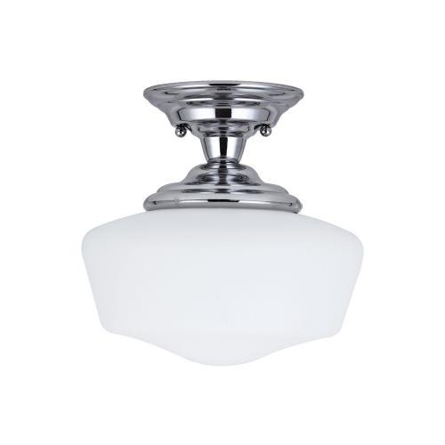 Sea Gull Lighting 77436-05 Academy - One Light Semi-Flush Mount