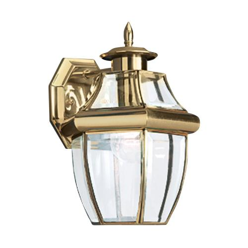 Sea Gull Lighting 8038-02 One Light Outdoor Wall Fixture in Traditional Style - 7.75 inches wide by 12 inches high