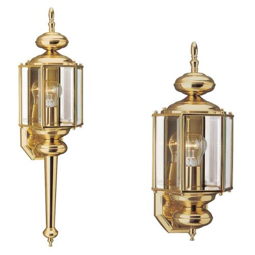 Sea Gull Lighting 8510-02 One Light Outdoor in Traditional Style - 7 inches wide by 25.5 inches high