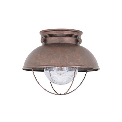 Sea Gull Lighting 8869-44 Sebring Transitional 1 Light Outdoor Ceiling Fixture in Transitional Style - 11 inches wide by 9.25 inches high