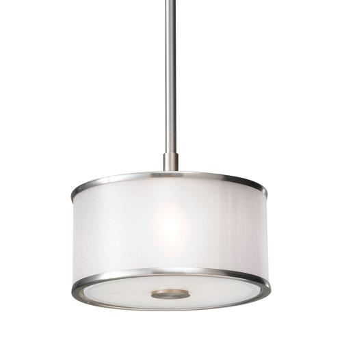 Sea Gull Lighting P1137BS Casual Luxury - One Light Mini-Pendant