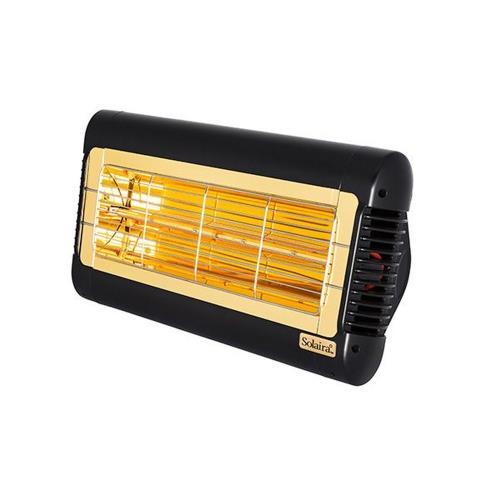 Solaira SALPHA15240-L1B Alpha Candel 1500W 240V Ultra Low Light Electric Radiant Infrared Heater - Black