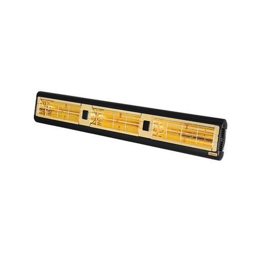 Solaira SALPHA3-45240-L1B Alpha Candel 4500W 240V Ultra Low Light Electric Radiant Infrared Heater -Black