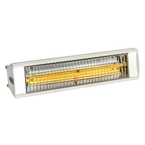 Solaira SCOSYAW15240W Solaria Cosy 1500W Series - All Weather Electric Infrared Commercial Heater 240V - White