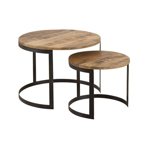 Stein World 17278 Craighorn - 24 Inch Accent Tables (Set of 2)