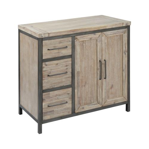 Stein World 17361 Cork County - 40 Inch 2-Door 3-Drawer Cabinet