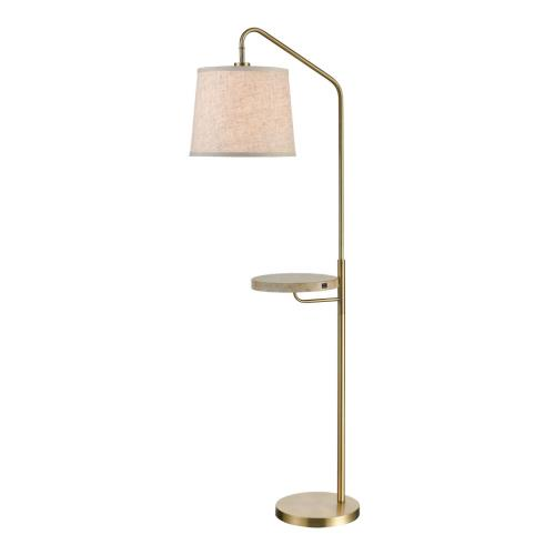 Stein World 77135 Regina - One Light Floor Lamp with USB Charger