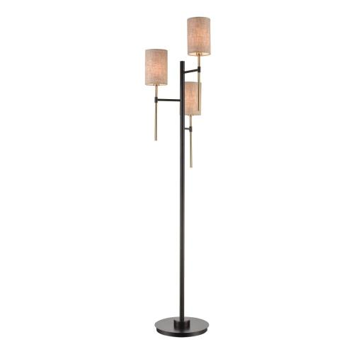 Stein World 77159 Trade Wind - Three Light Floor Lamp