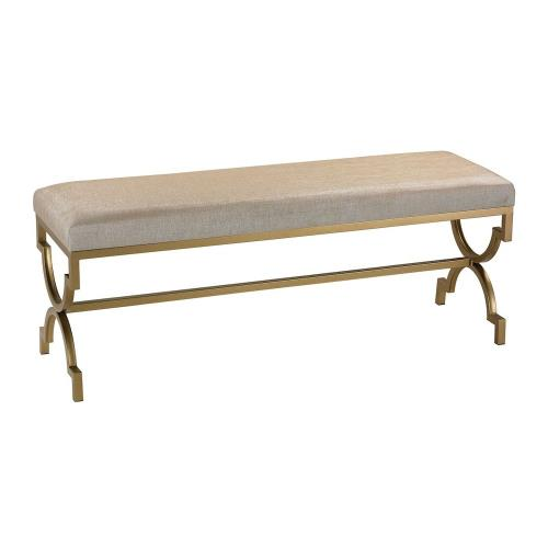 "Sterling Industries 180-003 Gold Cane - 21"" Double Bench"