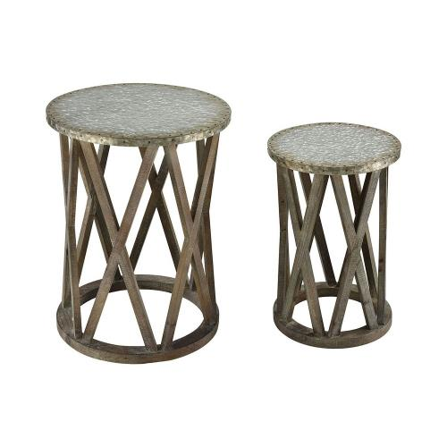 Sterling Industries 351-10541/S2 Klad - 24 Inch Table (Set of 2)
