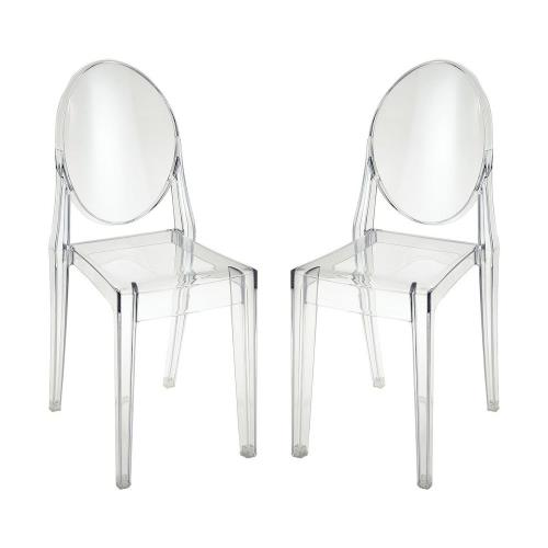 "Sterling Industries 4210-005/S2 Vanish - 18.9"" Dining Chair (Set of 2)"