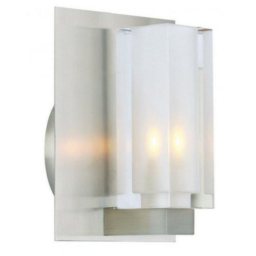 Stone Lighting WB222G9L3 7 Inch 3W 1 LED Rectangular Wall Sconce
