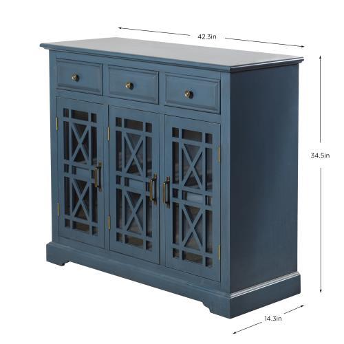 Stylecraft Home Collection AF15064DS Archer Ridge - 42.3 Inch 3 Drawer with 2 Door Sideboard