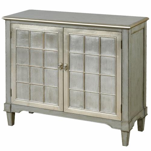 Stylecraft Home Collection DCA8101DS Asbury - 44 Inch Two Door Console Table With Doors And Table Top
