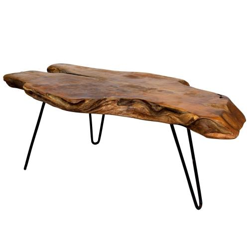 Stylecraft Home Collection IDW82658DS Badang - 28 Inch Carving Coffee Table