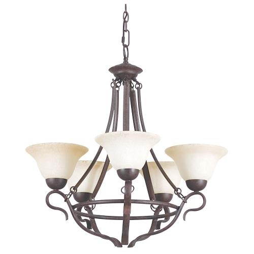 Sunset Lighting F5495-62 Venice - Five Light Chandelier