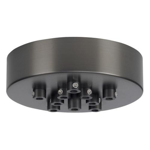 Tech Lighting 700TDMRD11 Accessory - 6.5 Inch 11 Port Round Mini Canopy