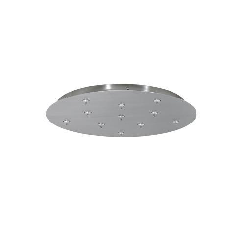 Tech Lighting 700FJRD11 Accessory - 11-Port Free-Jack Round Canopy