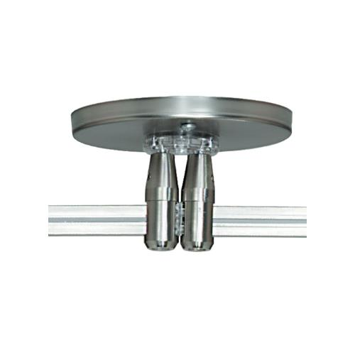 Tech Lighting 700MOP4C402 Accessory - 4 Inch Round Monorail Dual Power Feed Canopy