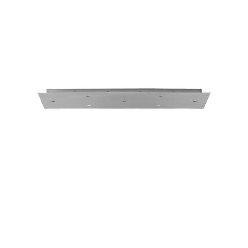 Tech Lighting 700PJLD7 Accessory - 7-Port Line-Voltage Rectangular Canopy