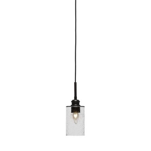 Toltec Lighting 1152-ES-300 Edge - One Light Cord Mini Pendant With Hang Straight Swivel