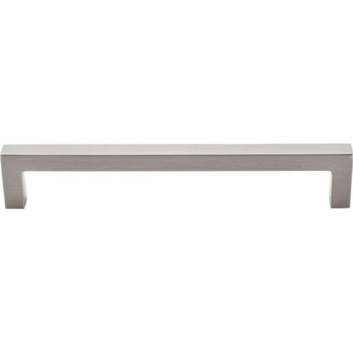 Top Knobs M1155 Nouveau III Collection 6.3125 Inch Square Bar Cabinet Pull