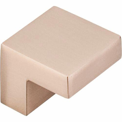 Top Knobs M1587 Nouveau III Collection 0.375 Inch Square Cabinet Knob