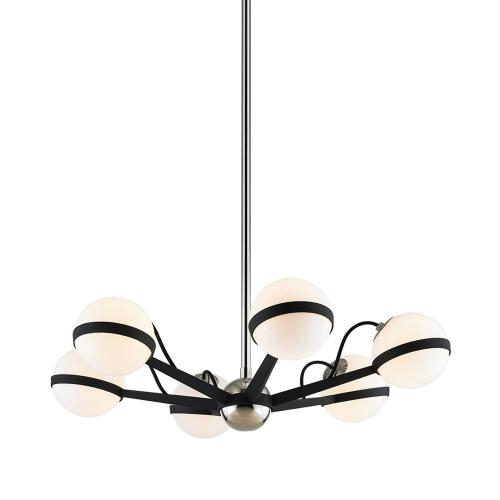Troy Lighting F7163 Ace - Six Light Small Chandelier
