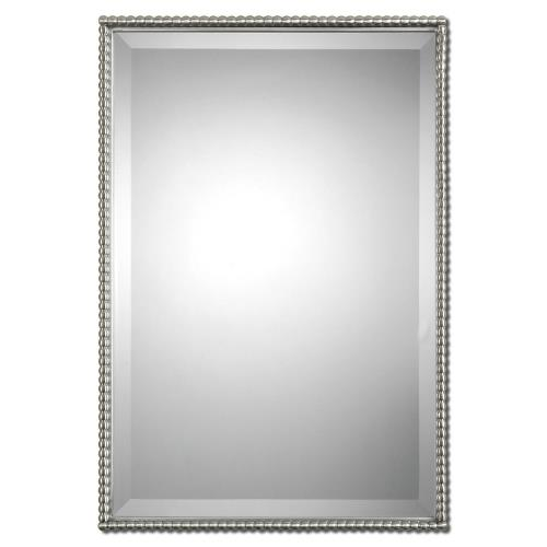 Uttermost 01113 Sherise - 31 inch Rectangular Mirror - 21 inches wide by 1.5 inches deep
