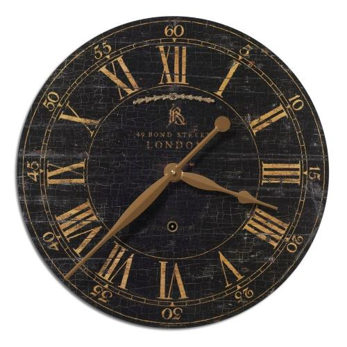 Uttermost 06029 Bond Street - 18 inch Wall Clock