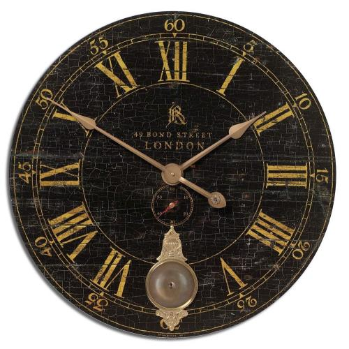 Uttermost 06030 Bond Street - 29.5 inch Wall Clock