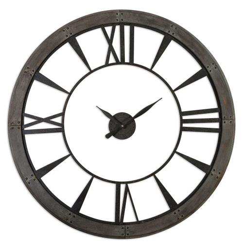 Uttermost 6084 Ronan - 60 Inch Large Wall Clock