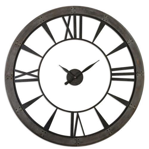 Uttermost 06084 Ronan - 60 inch Large Wall Clock