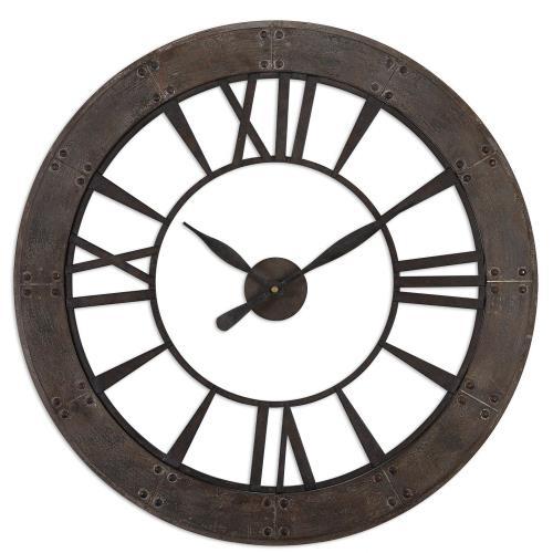 Uttermost 6085 Ronan - 40 Inch Wall Clock