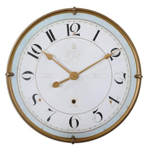 Uttermost 6091 Torriana - 31.5 Inch Wall Clock