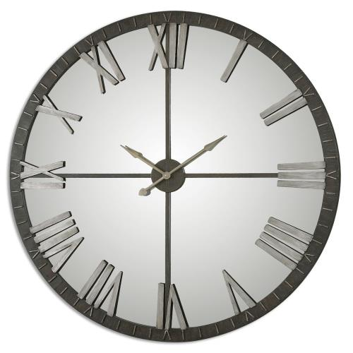 Uttermost 06419 Amelie - 60 inch Large Wall Clock