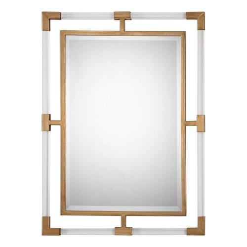 Uttermost 09124 Balkan - 37.5 inch Modern Wall Mirror