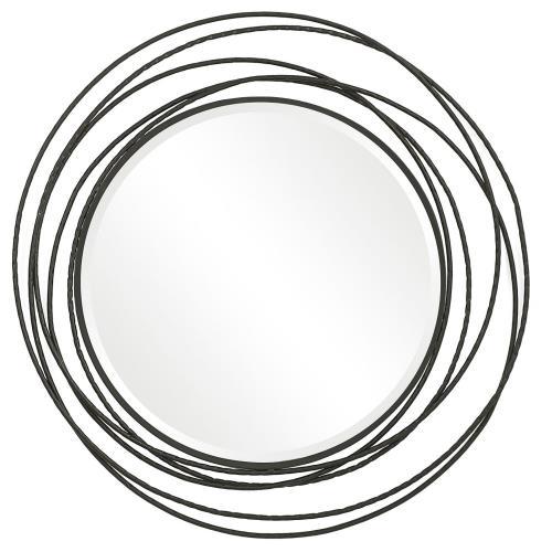 Uttermost 09704 Whirlwind - 39.37 Inch Round Mirror