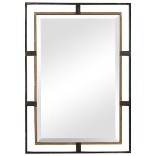 Uttermost 09711 Carrizo - 32 Inch Rectangle Mirror