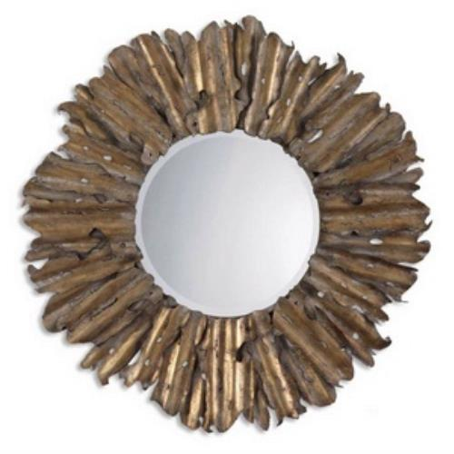 Uttermost 12742 B Hemani - 42.75 inch Mirror - 42.75 inches wide by 2.75 inches deep