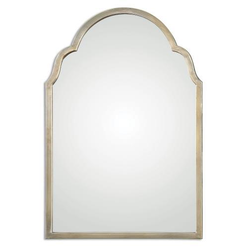 Uttermost 12906 Brayden - 30.13 inch Arch Mirror - 20.13 inches wide by 1.13 inches deep