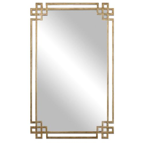 Uttermost 12930 Devoll - 36.63 inch Mirror - 22.75 inches wide by 1 inches deep